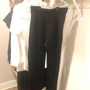 zara knitwear tight fit trouser